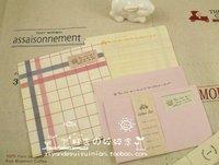 бесплатная доставка 10 компл./лот романтический конверт и почтовая бумага комплект, любовное письмо, новое прибытие / канцтовары / мода стиль / подарок / оптовая продажа