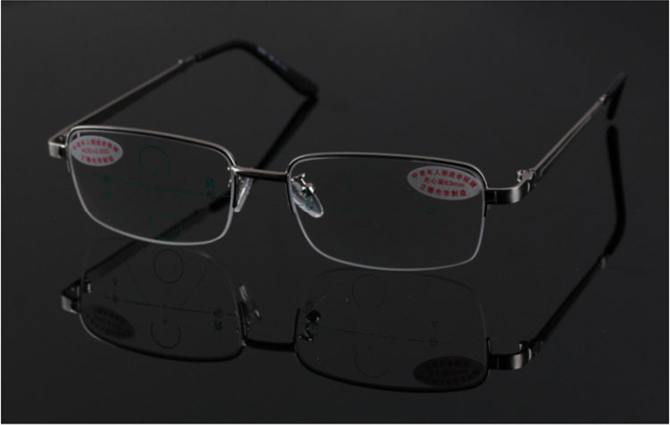 ecc83f6aee78a VIDA CLARA óculos de leitura multifocal Progressiva Ver perto distante  Ultra light da liga