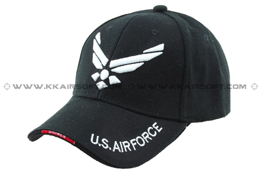 462adc91b20ae U.S. Military Air Force logo Baseball Cap Black-in Hiking Caps from Sports  & Entertainment on Aliexpress.com | Alibaba Group