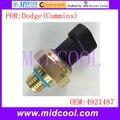 Novo Sensor de Pressão de Óleo uso OE No. 4921487 para Dodge (Cummins)