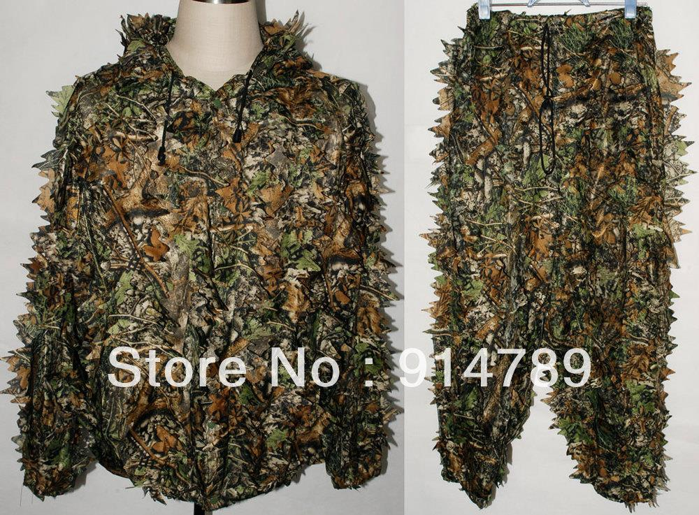 REALTREE CAMO LEAF NET GHILLIE SUIT JACKET AND TROUSERS 32249