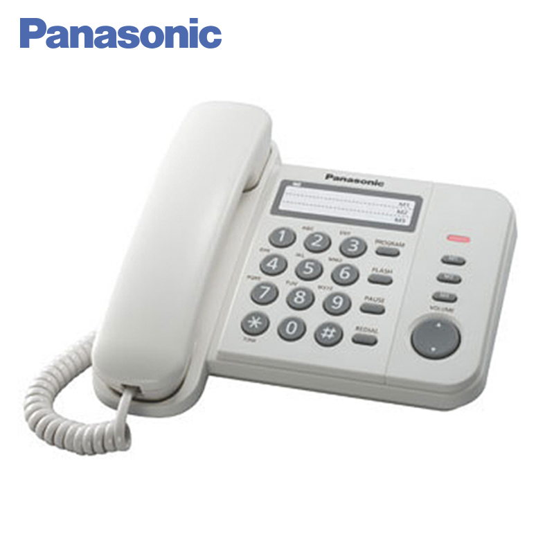 Panasonic KX-TS2352RUW Phone Home fixed Desktop Phone Landline for home and offfice use. adjustable plastic holder stand for phone and tablet pc black