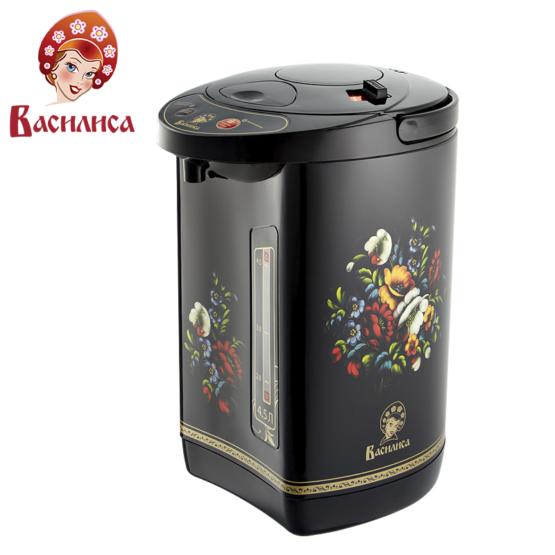VASILISA TP5-900 Electric Air Pot. Thermopot 4,5L thermo electric thermos insulation kettle temperature control work indicator hotter hx 9016 electric kettle folding constant temperature control electric water kettle 1 7l thermal insulation teapot