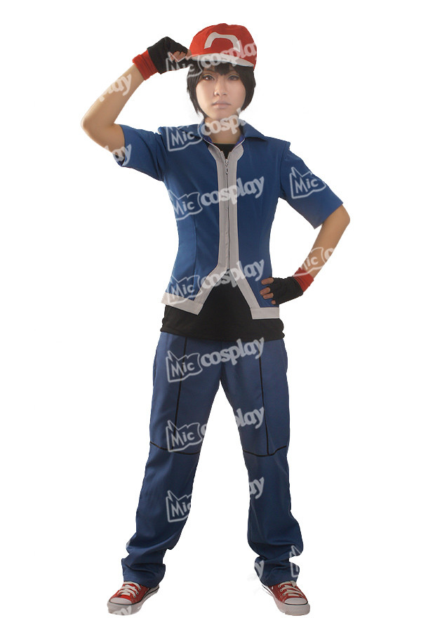 Ash Ketchum Cosplay костюмі Unisex - Костюмдер - фото 2