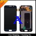 No . de seguimiento. 100% probado Original para Samsung Galaxy S6 G920f G920i LCD digitalizador asamblea azul marino / blanco / oro