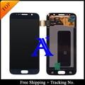 Rastreamento no. 100% testado Original para Samsung Galaxy S6 G920f G920i LCD digitador assembléia azul escuro / branco / ouro