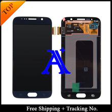 Tracking No.+ 100% tested Original For Samsung Galaxy S6 G920f G920i  LCD  Digitizer Assembly  – Dark Blue/White/Gold