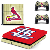 NFL Arizona Cardinals PS4 Skin Sticker Decal For Sony PS4 PlayStation 4 Console and 2 Controllers Stickers