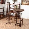 Античном стиле барные стулья и столы подъема поддержки сад и уличная мебель для ресторана