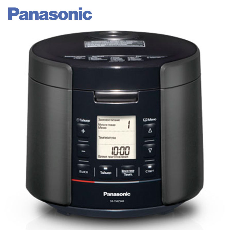 Panasonic SR-TMZ540KTQ Multivarka electric digital 5L. Multicooker. Rice cooker. Steamer. Yogurt. Recipie book. Timer. aroma 4 in 1 rice cooker