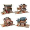 Куб. Весело 3D Головоломки DIY Дом В Китае Есть Бумажные Модели, ассамблея Puzzle 3D Китай Вкус Игрушки Для Коллекции Рождественские Подарки