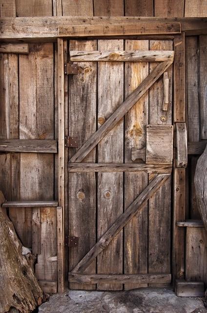 Photography Backdrop Newborn Photoshoot Background Grunge Old Barn Doors Photo Shabby Chic