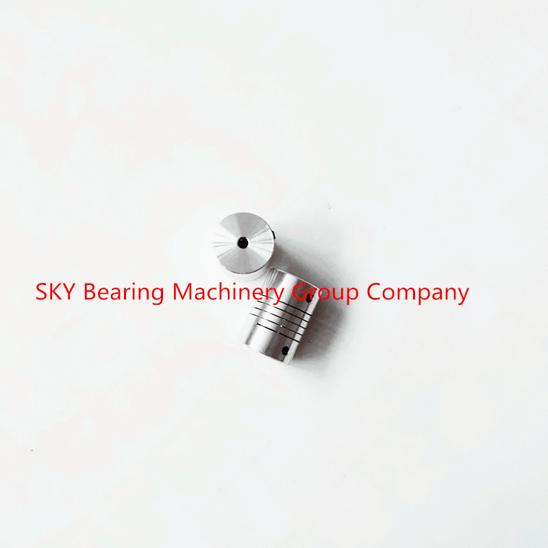5pcs Aluminium Plum Flexible Shaft Coupling 6mm to 6.35mm Motor Connector Flexible Coupler 6x6.35mm 1/4 inch D25mm L30mm oldham $ coupling flexible coupling motor coupling d25l30
