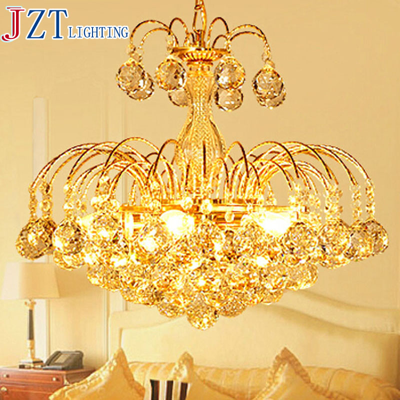 M Best Price European Luxury Golden Round Crystal Chandeliers Light Home Foyer Lamps Hotel Restaurant Clubs Bedroom Droplights z best price european luxury golden round crystal chandeliers light home foyer lamps hotel restaurant clubs bedroom droplights