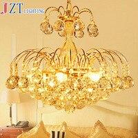 M Best Price European Luxury Golden Round Crystal Chandeliers Light Home Foyer Lamps Hotel Restaurant Clubs Bedroom Droplights
