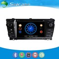 Seicane Cheap GPS Navigation System Radio For 2013 2014 Toyota Corolla With DVD Player Bluetooth 1080P Video Rearview Camera