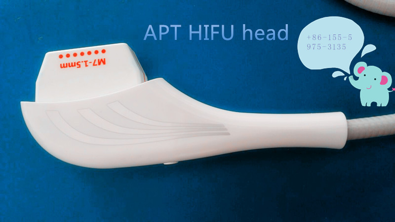 3 heads hifu for proffesional skin rejuvenation anti aging/wrinkle