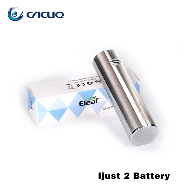 Almacén de rusia Original Ismoka eleaf ijust 2 batería 2600 mah batería Para ijust ijust2 2 Kit de Cigarrillo Electrónico de La Batería Recargable