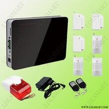 Русский/Английский Голос GSM Сигнализация Главная Охранной Сигнализации 900/1800/1900 МГц