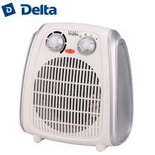 Тепловентилятор DELTA D-803/1, 2000 Вт, корпус из термостойкого пластика, световой индикатор работы, 2 режима нагрева, холодный обдув, регулировка температуры нагрева, защита от перегрева.