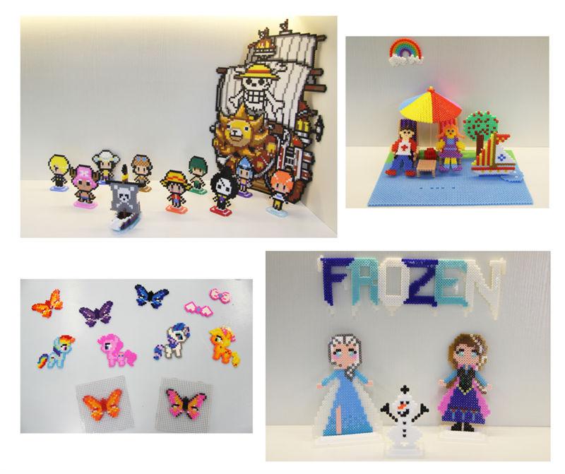 Бисер artkal 24 Цвета набор в ящике для хранения S-5mm Diy креативная игрушка для выкладывания бусинами развивающие игрушки подарки