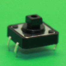 1x DIP 12x12x7 Tactile Tact Push Button Micro Switch Momentary 12 12 7MM good quality