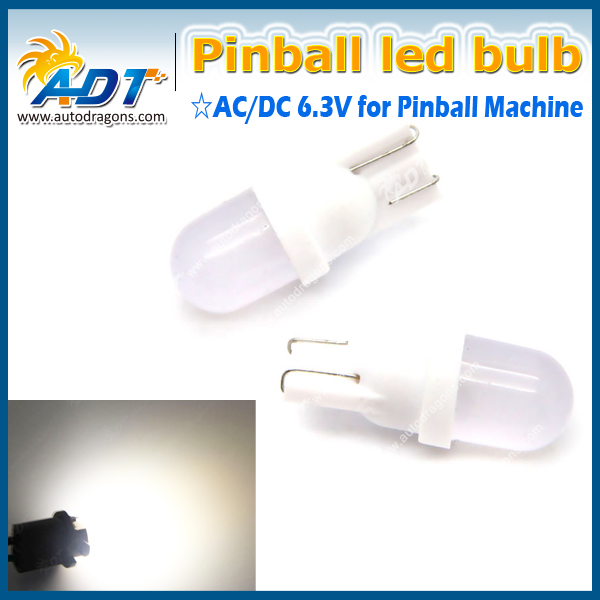 #555 194 T10 #44 #47 Ba9s pinball led Frosted Pinball Led non ghosting pinball free shipping
