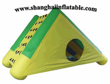 2016 good quality cute Triangle inflatable tent sun shelter with cover for camping