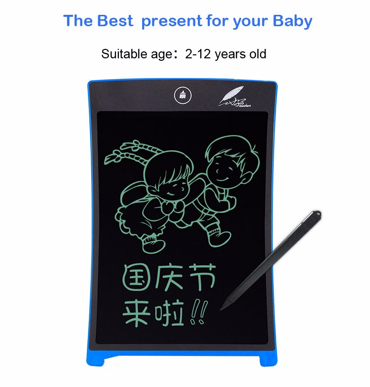Blackboard - LCD Writing Tablet Erase Drawing Tablet Electronic Paperless Handwriting Pad