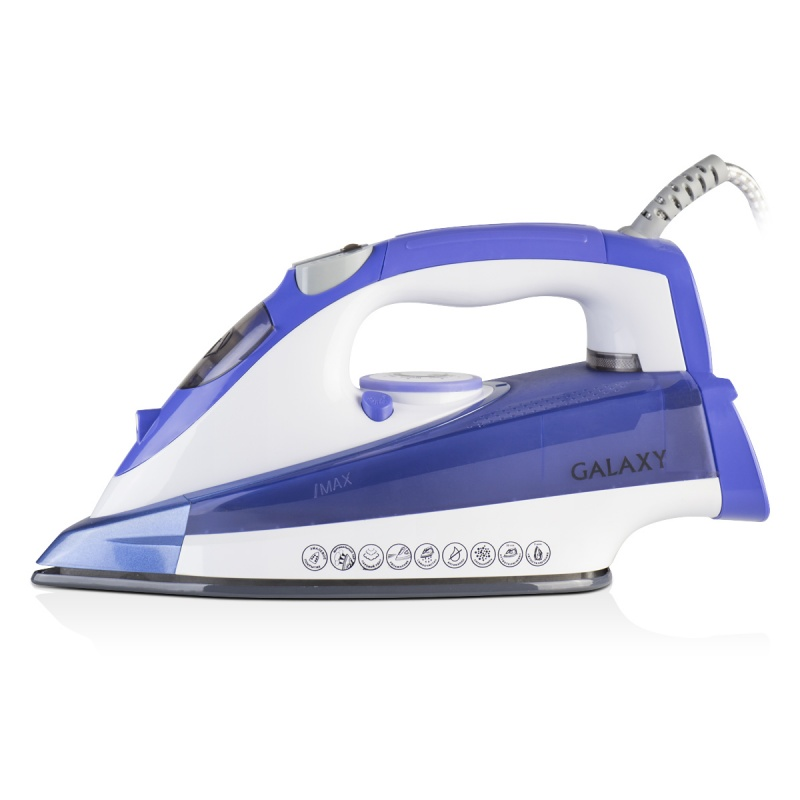 Steam iron Galaxy GL 6122 (blue) galaxy gl 0207 blue