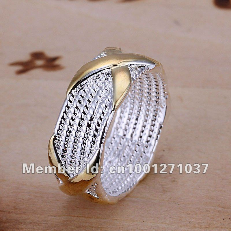 2017 real sale r013 fashion sterling silver 925 rings.gold ring ...