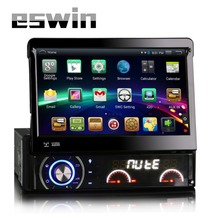 Android 4.4.4 Car Audio GPS Navigation 1DIN 4 Cores Car Stereo Radio Car Bluetooth USB/Universal Player TV 8G MAP Built-in wifi