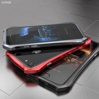 LUPHIE Cho iPhone 7 Trường Hợp Original Luxury Kim Nhôm Khung Cứng mỏng Batman Bumper Điện Thoại Trường Hợp cho iPhone 7 Cộng Với Trường Hợp Bìa