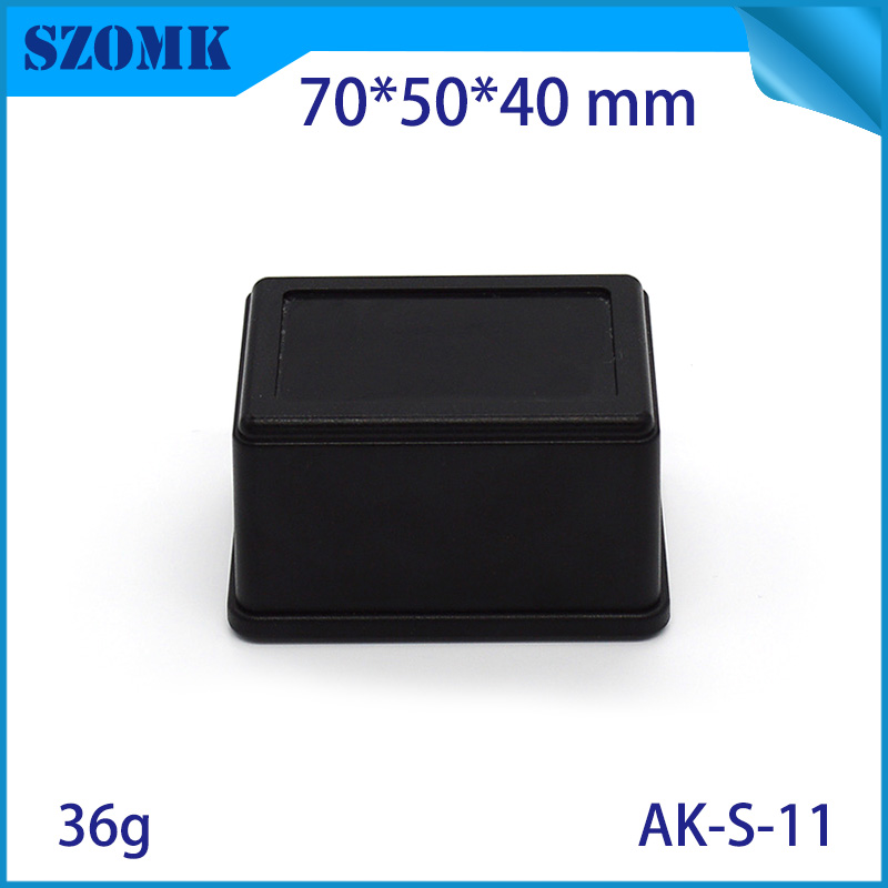 цены 1 piece sozmk  electronic enclosure small electrical box battery enclosure plastic led case70*50*40mm