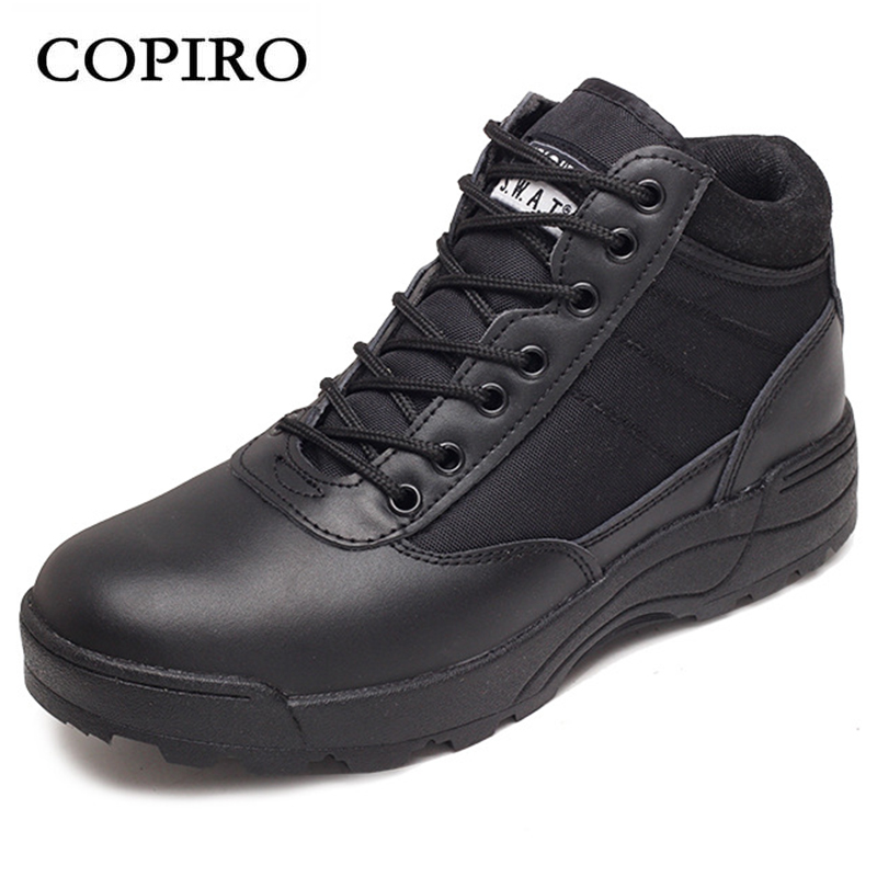 COPIRO Spring Breathable Tactical Boots Hiking Shoes Men Outdoor Waterproof Climbing Sneakers  Lace-Up Zapatilla Trecking new 2017 brand men spring autumn outdoor climbing shoes couple climbing hiking lace up rubber breathable shoes 8037