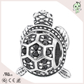 Little turtle simple  S925 Sterling Silver beads/charm for necklace or bracelets