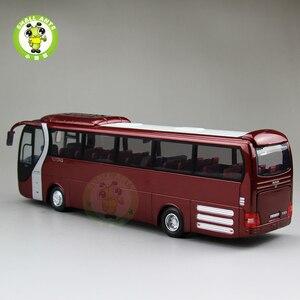 Image 3 - 1/42 Bilancia Bus Modello di UOMO del Leone star Yutong ZK6120R41 Diecast Bus Modello di Auto Giocattoli Regali