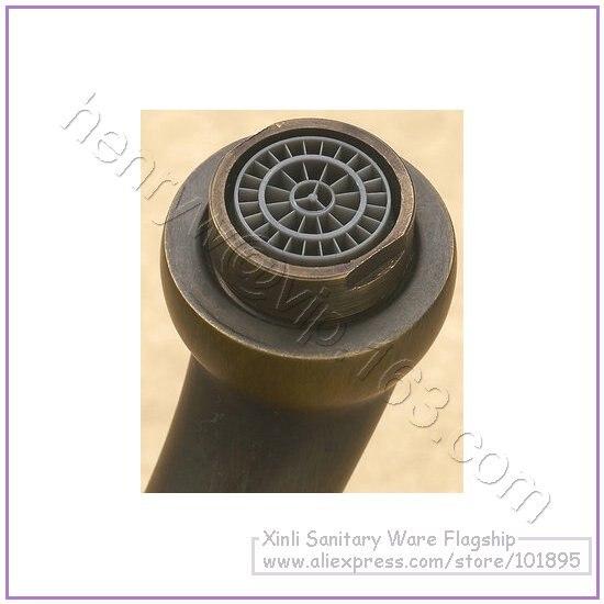 L16596-Роскошные бортике Латунь Материал Горячая и холодная вода смеситель для раковины