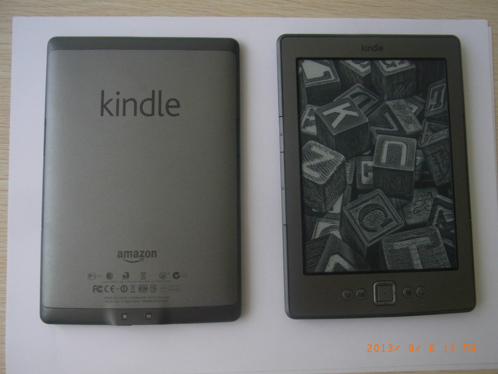 US $60 0 | Used Original Amazon Kindle 4 (D01100) e book reader-in eBook  Reader from Consumer Electronics on Aliexpress com | Alibaba Group
