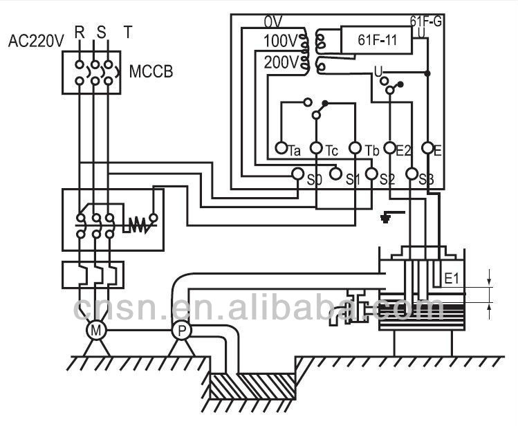 floatless relay circuit diagram