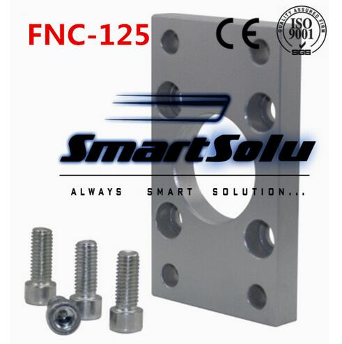 Free Shipping 5pcs/lots ISO6431 cylinder accessories FNC - 125, flange installation pieces, as FNC - 125, DNC, SE, SI кроссовки ralf ringer ralf ringer ra084awvsb66