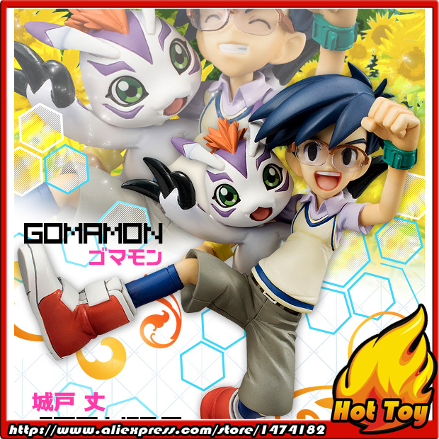 100% Original MegaHouse G.E.M. Complete Figure - Joe Kido & Gomamon from Digimon Adventure велокрылья simpla kido sds 20 black blue