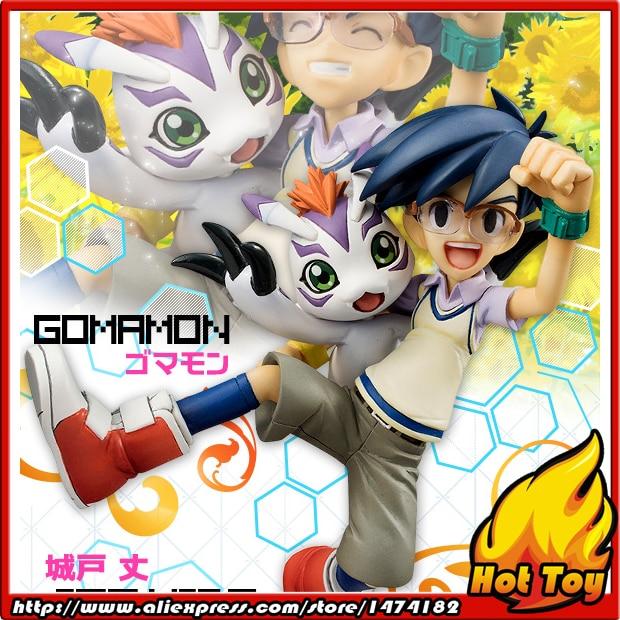 100% Original MegaHouse G.E.M. Complete Figure - Joe Kido & Gomamon from Digimon Adventure велокрылья simpla kido sds 20 black blue