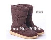 бесплатная доставка, женские зимние ботинки, женские зимние ботинки, водонепроницаемый хлопок ботинки размер мал для малыша