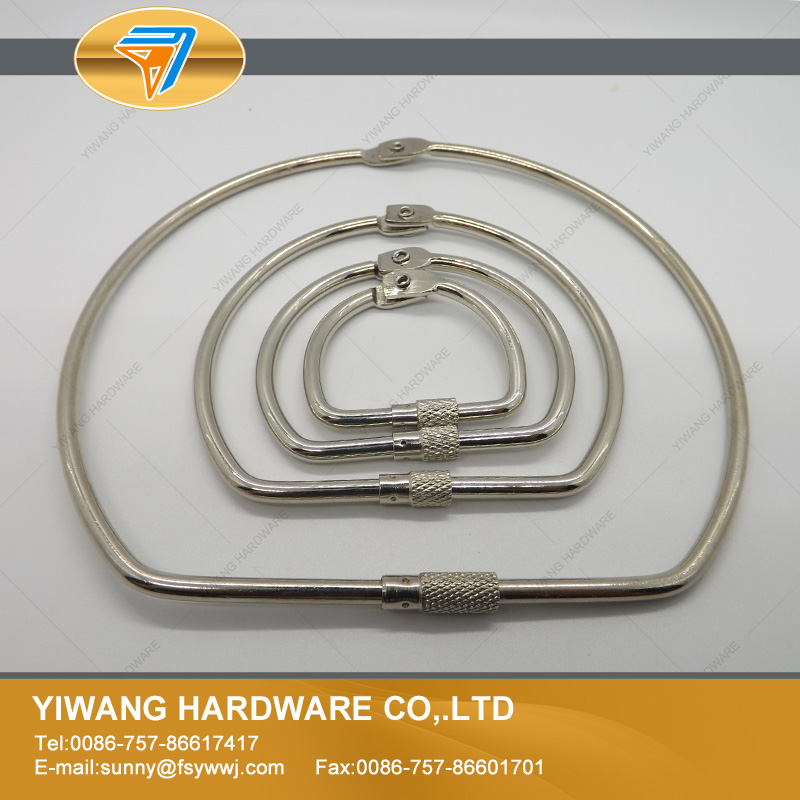 Aliexpress Collection Ring High Quality Nickel Plating Screw Lock Binding Ring