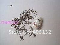 мс-2-1 бесплатная доставка симпатичные ногтей металл наклейка искусство украшения необычные аспекте