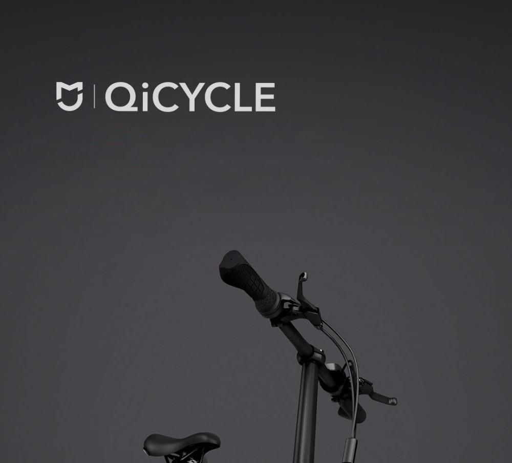UT8p YXX4VaXXagOFbX8 - Unique model Mi Qicycle 20KM/H Foldable Bluetooth 4.zero Telephone APP Monitor sensible Electrical Bicycle With 1.8'' Display bike