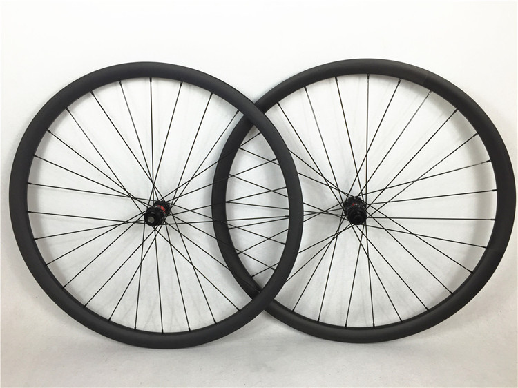 1404g per set ! Far Sports 29er carbon mtb bike wheels 30mm width, 28H without outer holes , DT 240s hubs central lock цена