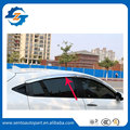 Chapado de alta Calidad Ventana de Coche Visera Deflector de Viento Sun Rain Guardia Defletor Para HR-V Vezel/XRV