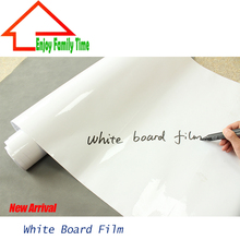 Manufacturers Wholesale 60 CM By 1000CM Teaching Soft Environmental Self-Adhesive White Board Film Large Can Give Erasable Pen